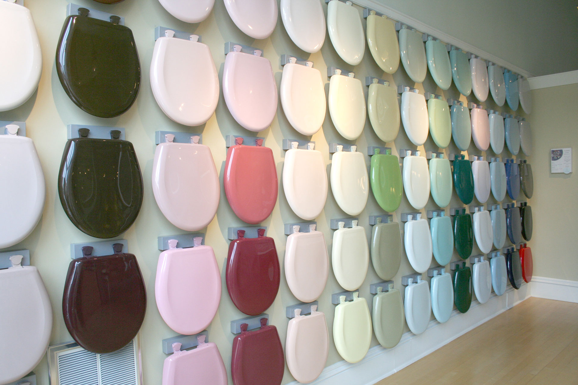 seat color wall